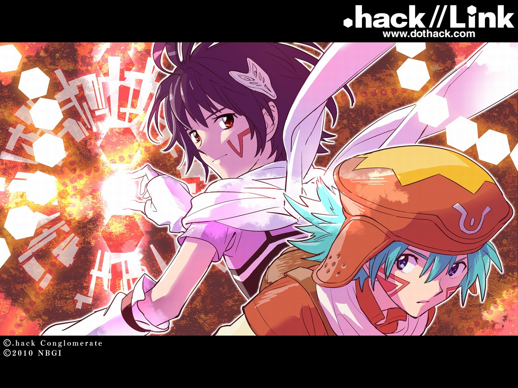 аниме девушки из аниме хак // ЗНАК / .hack // Link