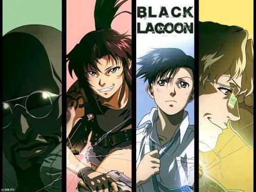 Смотреть Онлайн Черная лагуна 1,2 сезон / Black Lagoon TV 1,2 / Пираты Черной Лагуны