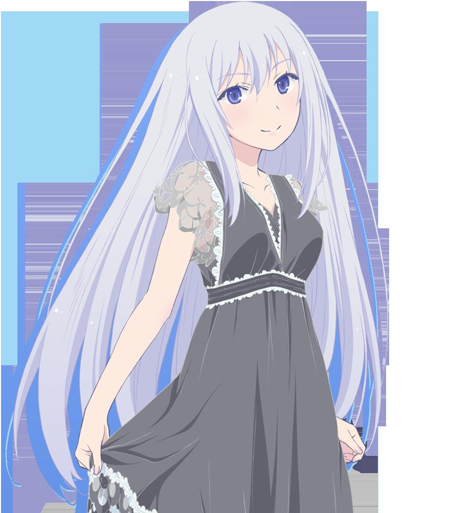 аниме девушка natsukawa_masuzu из аниме ore no kanojo to osananajimi ga shuraba sugiru