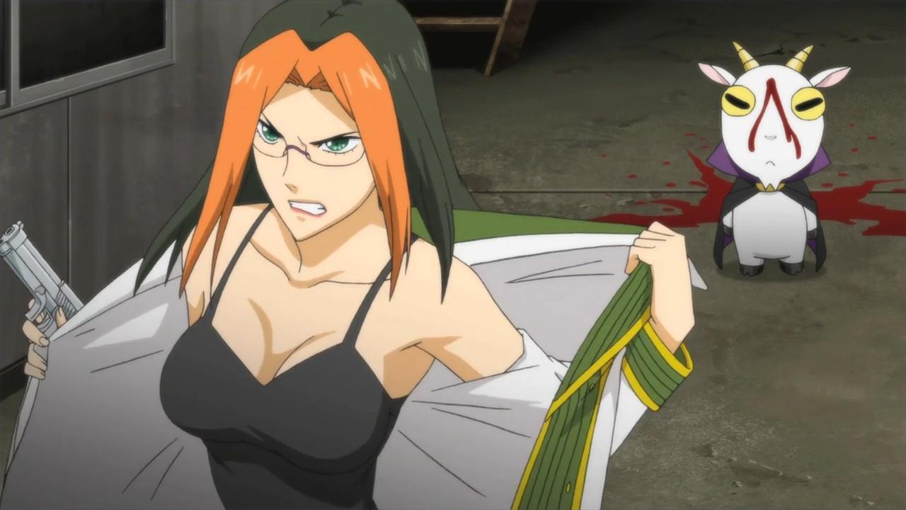 скриншот аниме Детектив-оборотень Инаба cuticle_detective_inaba