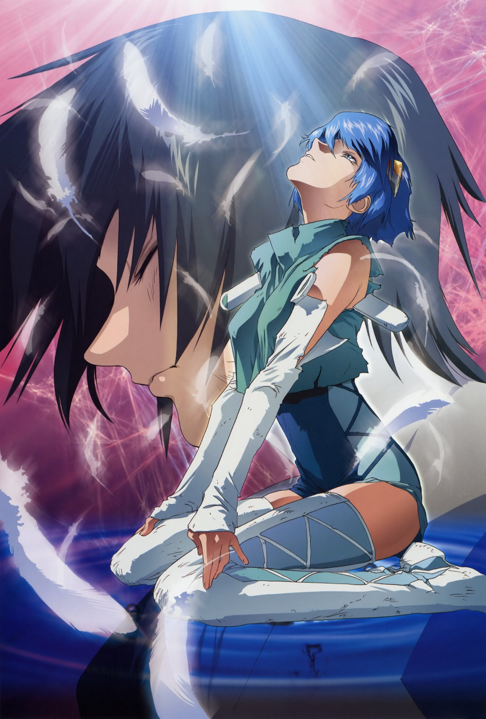 tairen_ryuhou и sherrice_adjani из аниме Скрайд / Scryed