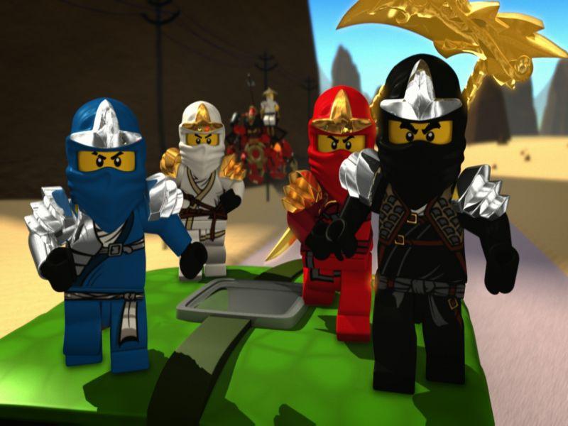 Смотреть Онлайн Лего ниндзяго мультфильм Lego Ninjago