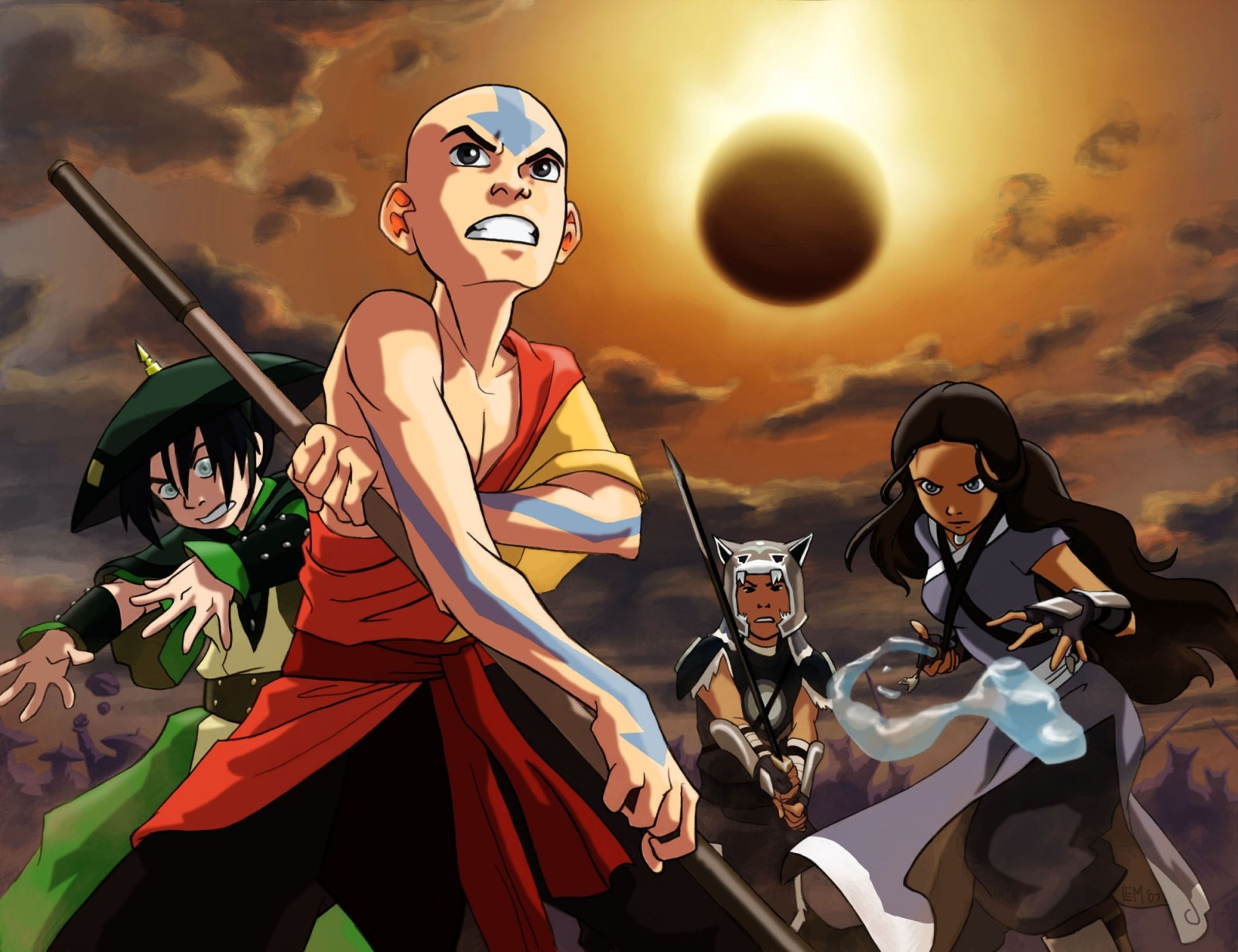 Аватар: Легенда об Аанге - книга первая: Вода / Avatar: The Last Airbender
