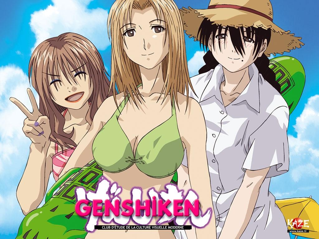 Смотреть Онлайн Гэнсикэн ТВ-1,2 + OVA / Genshiken tv 1.2 + Ova