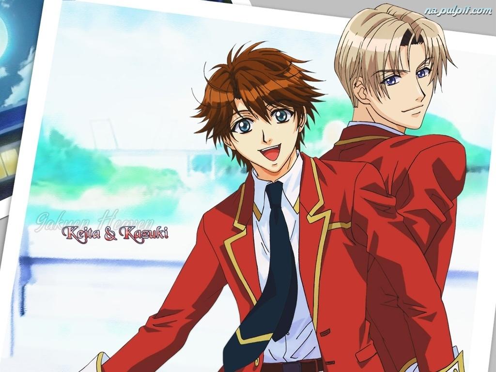 Смотреть Онлайн Райская школа / Gakuen Heaven: Boy's Love Scramble