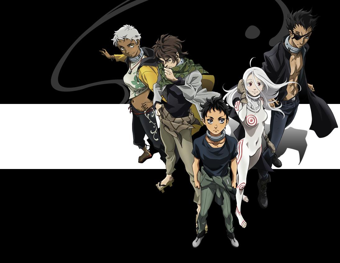 персонажи из аниме Страна чудес смертников