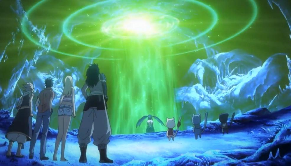отрывок из аниме хвост феи второй сезон